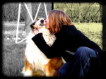 Elodie avec Titus Colley de 12 ans - (12 years)